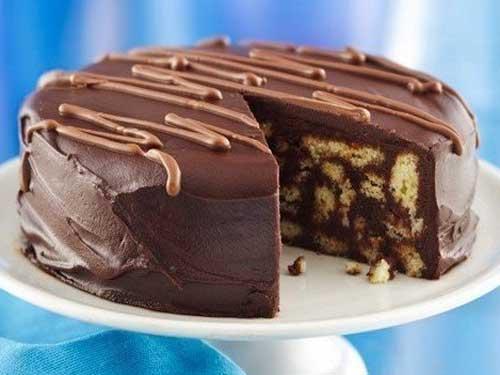 Шоколадный торт фото рецепт без выпечки