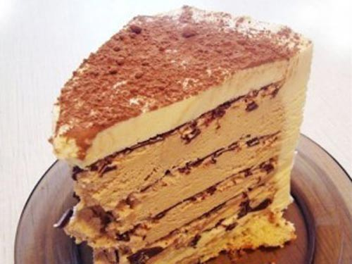 Творожно сметанный торт суфле с